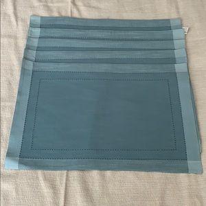 5 Blue Pier 1 Placemats